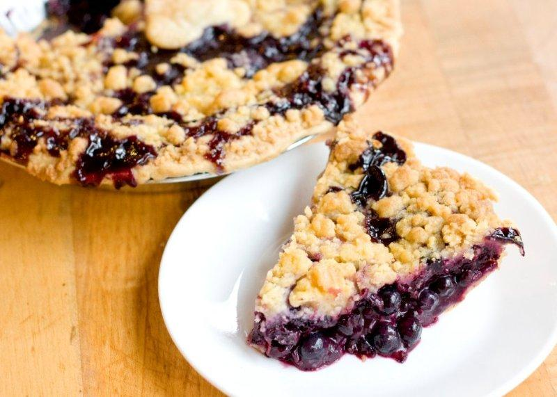 Blueberry Crumb Pie Facts | Grand Traverse Pie Company