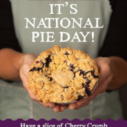 Celebrate National Pie Day on January 23rd
