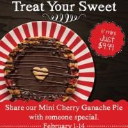 Share Our Mini Cherry Ganache Pie This Valentine's Day