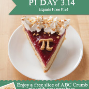 Celebrate the 'Epic' Pi Day with Free Pie on March 14