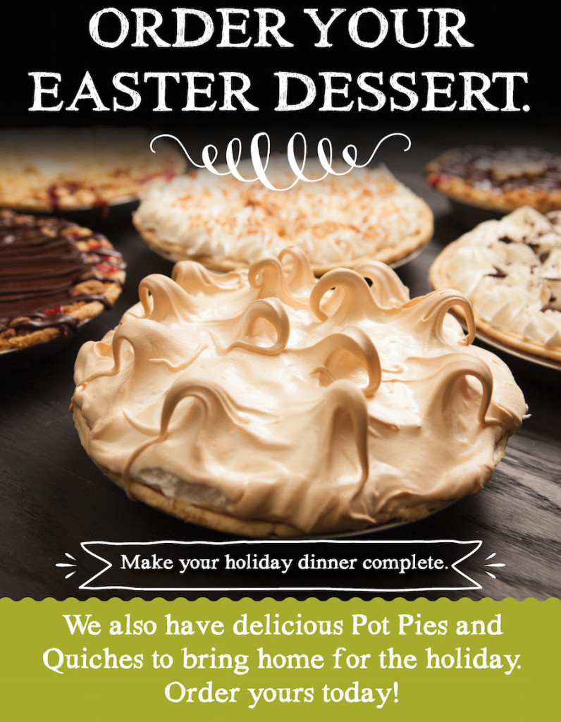 Order Your Easter Pies