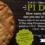 Pi Day photo contest