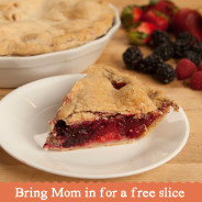Celebrate Mom with a Free Slice of Pie