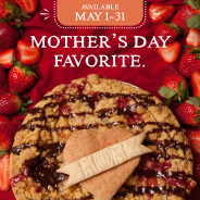 Mom's Favorite is Back! Celebrate her with Strawberry Champagne Pie
