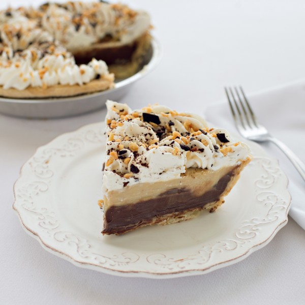 Chocolate Peanut Butter Cream Pie at Grand Traverse Pie Company