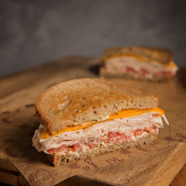 Lighthouse Turkey Cheddar Sandwich - Grand Traverse Pie Company