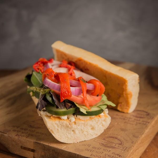 Mediterranean Veggie Sandwich - Grand Traverse Pie Company