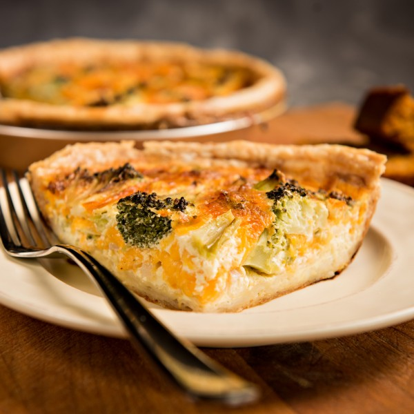 Broccoli Cheddar Quiche _8287