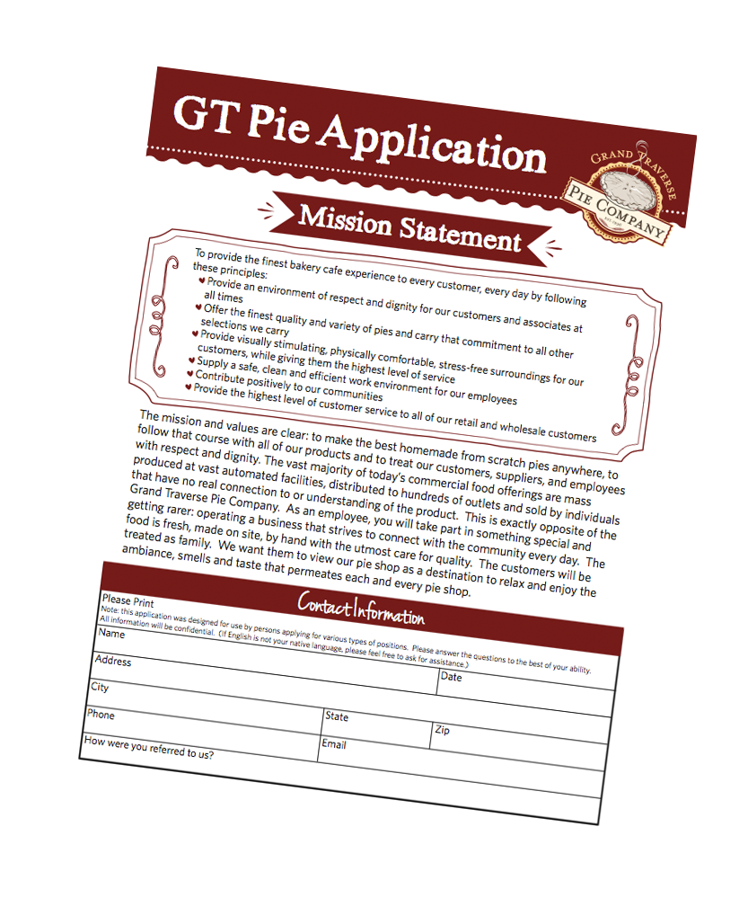 Careers at GT Pie
