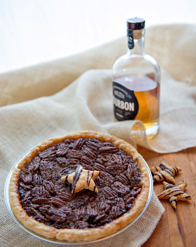 Chocolate Pecan Bourbon Pie Recipe — Dishmaps