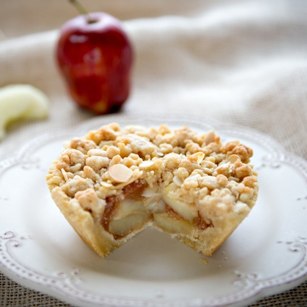 Gluten Free Mini Apple Crumb