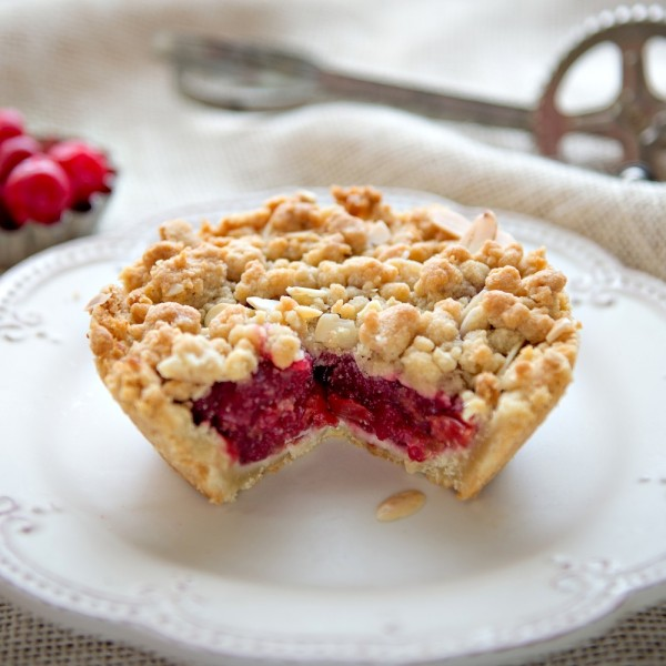 Gluten Free Mini Cherry Crumb