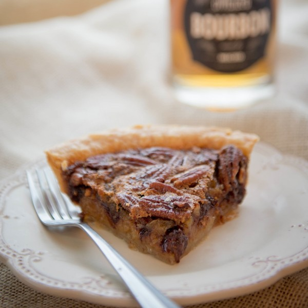 Bourbon Chocolate Pecan Fusion Pie