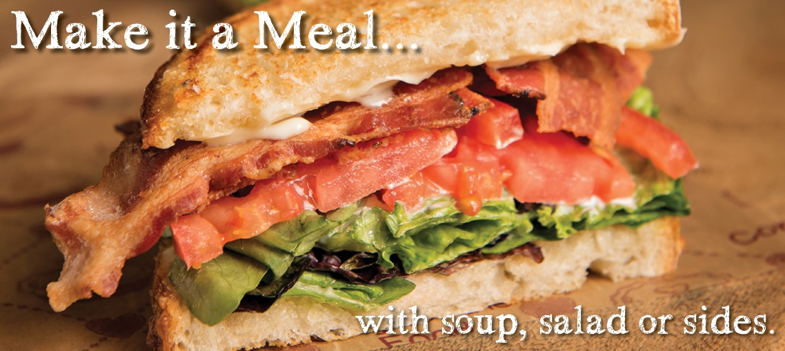 BLT Sandwich Ad