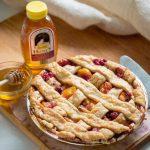 Peach Raspberry Honey Pie - Mom's New Favorite