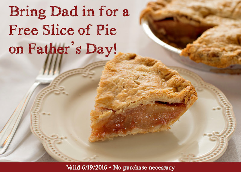 2016 Father's Day Free Slice