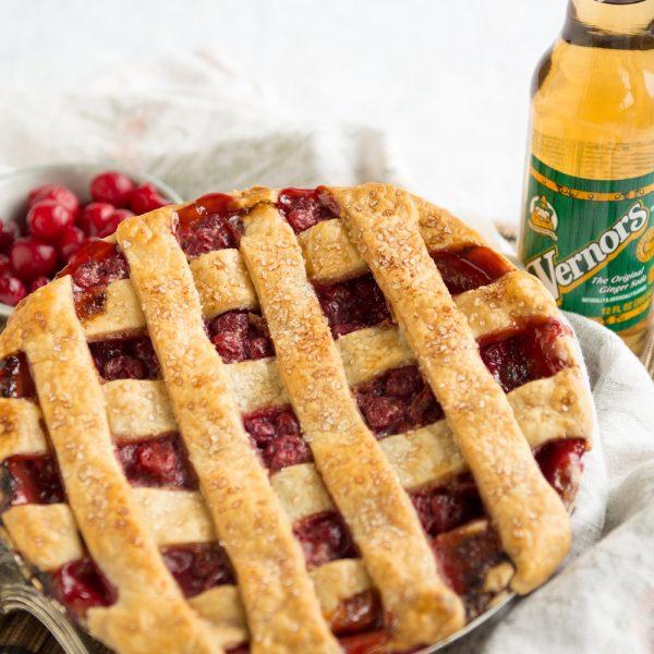 Vernors Cherry Pie Menu Item