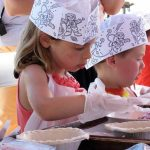 kids cherry pie make and bake