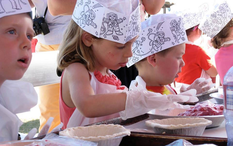 Cherry Pie Kids Make and Bake at National Cherry Festival