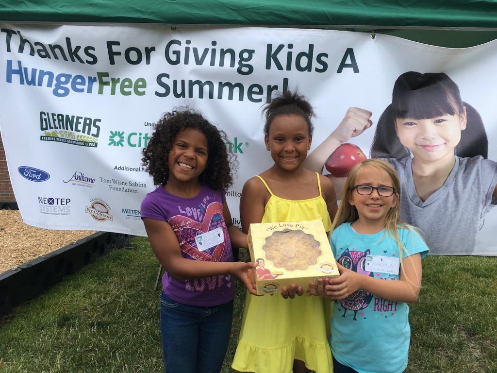 Hunger Free Summer at GT Pie