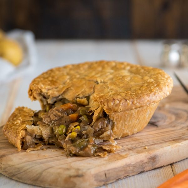 Beef Pot Pie at Grand Traverse Pie Company