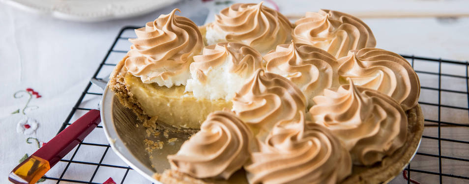 Butterscotch Pie for Mother's Day