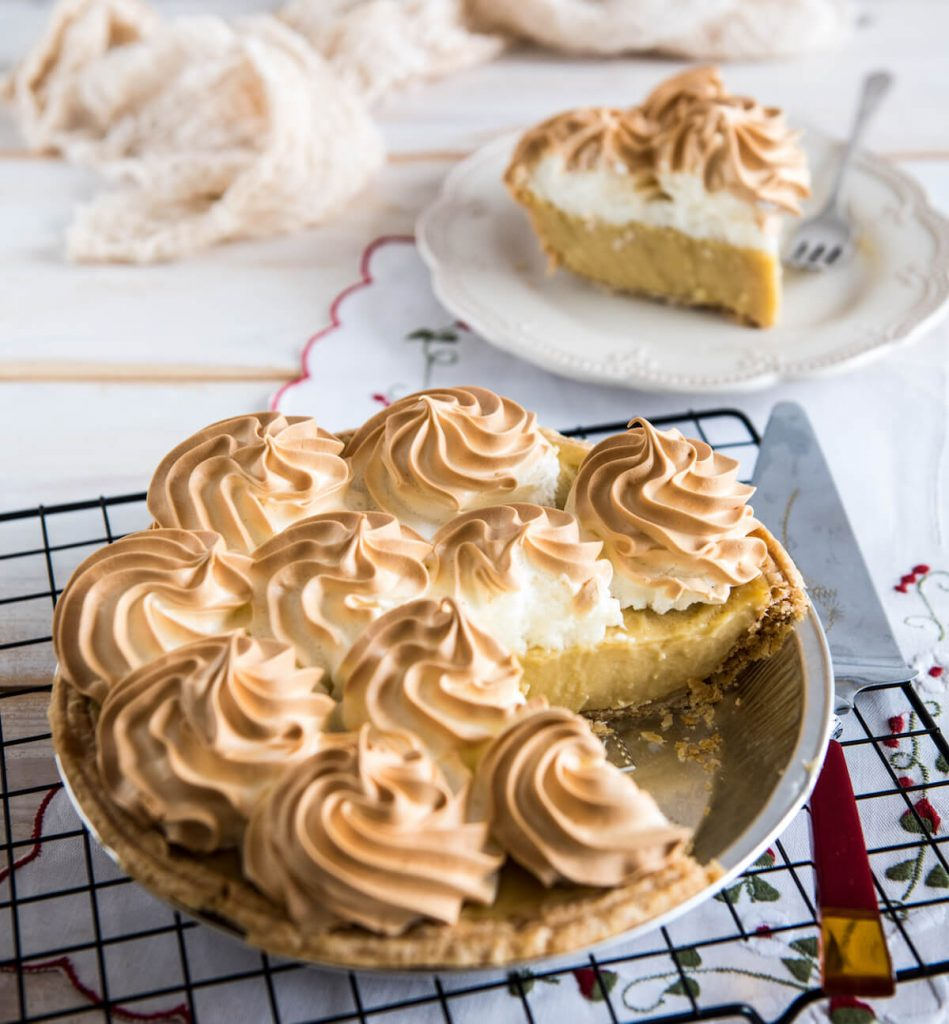 New Butterscotch Pie at Grand Traverse Pie Co