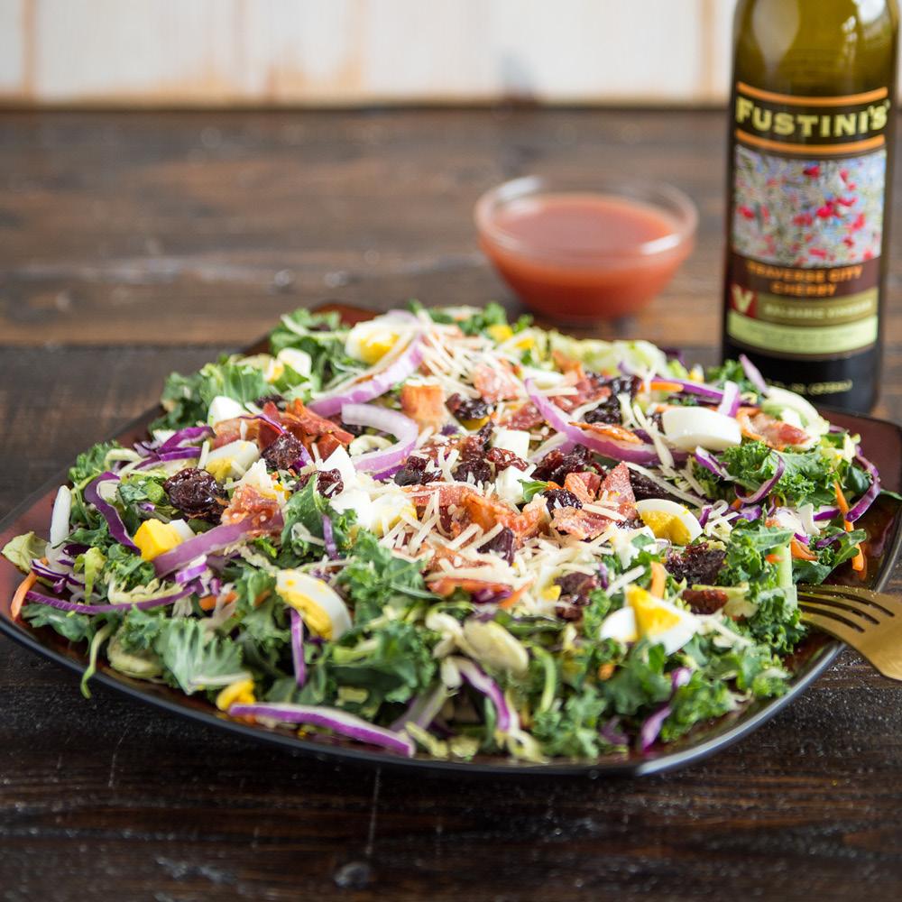 Salads Amp Wraps Menu Grand Traverse Pie Company