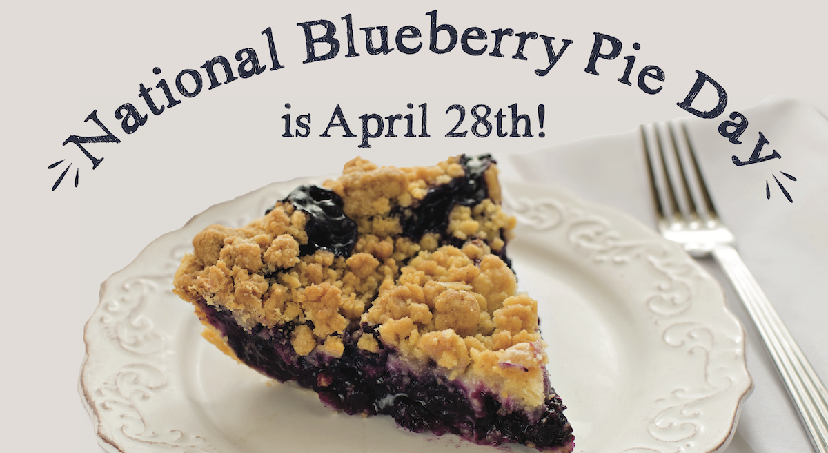 10 Facts About Blueberries For National Blueberry Pie Day