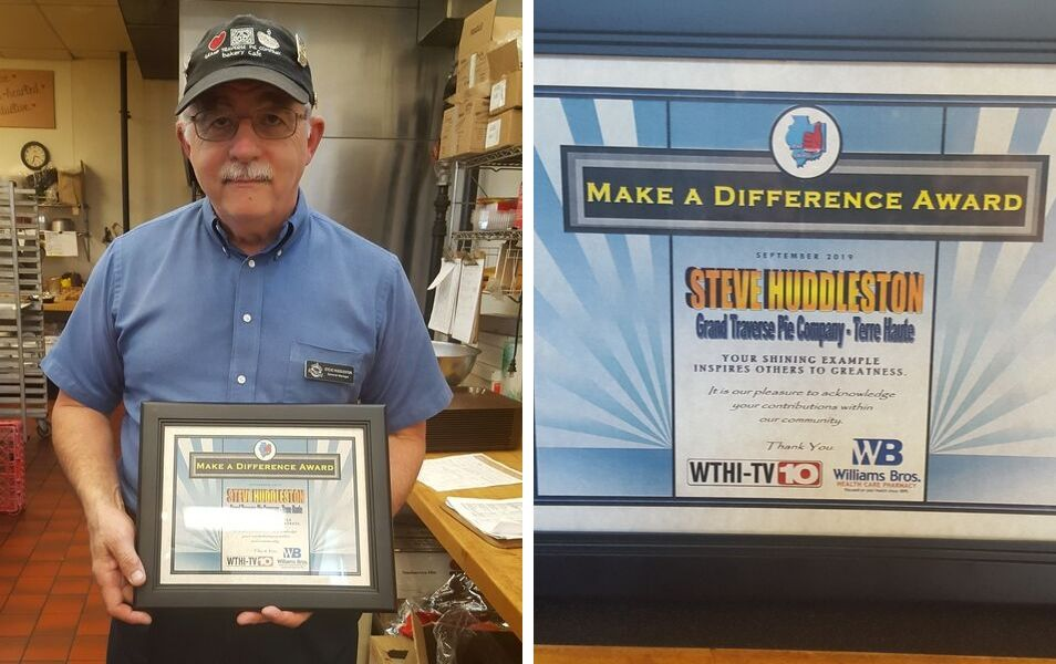Steve Huddleston Make A Difference Award